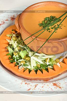 Zupa dyniowa | Foto stockowe wysokiej rozdzielczości |ID 3016700