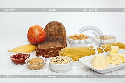 Diät-Wahl auf Weiß | Foto mit hoher Auflösung |ID 3016708