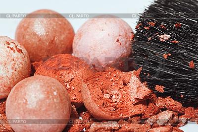 Rouge i szczotki makro | Foto stockowe wysokiej rozdzielczości |ID 3016721