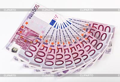500 Banknoty euro podsycana | Foto stockowe wysokiej rozdzielczości |ID 3017148