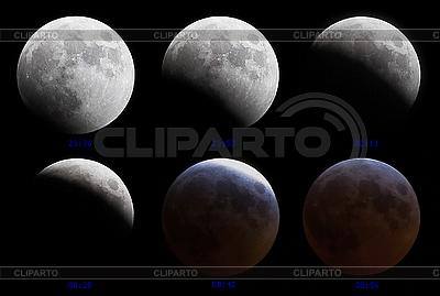 Mondfinsternis 03-04 März 2007 | Foto mit hoher Auflösung |ID 3017209