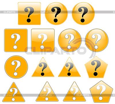 Вопросительные знаки | Иллюстрация большого размера |ID 3017379