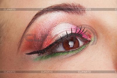 매우 아름다운, 환상적인 여자 눈을 확인합니다. | 높은 해상도 사진 |ID 3017647