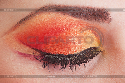 Make-up Auge | Foto mit hoher Auflösung |ID 3017658