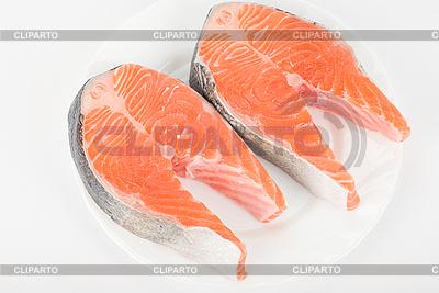 Red fish steak | Foto stockowe wysokiej rozdzielczości |ID 3019150