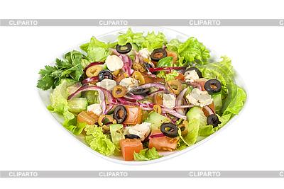 Griechischer Salat | Foto mit hoher Auflösung |ID 3019445