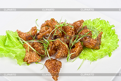 Рыбное филе запеченное в карамели | Фото большого размера |ID 3019546