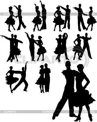 情侣舞蹈集 | 高分辨率插图 |ID 3019649