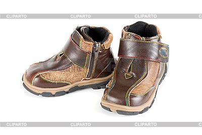 Весенние детские ботинки | Фото большого размера |ID 3019756