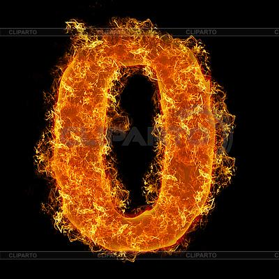 Liczba Fire 0 | Foto stockowe wysokiej rozdzielczości |ID 3020621