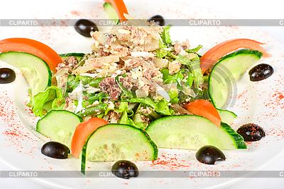 Salad of tuna fish | High resolution stock photo | ID 3020804
