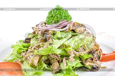 Salat mit Zunge | Foto mit hoher Auflösung |ID 3020819