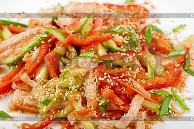 Chińska sałatka | Foto stockowe wysokiej rozdzielczości |ID 3020895