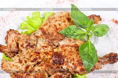 Gerösteten Hühnerfleisch  | Foto mit hoher Auflösung |ID 3020978