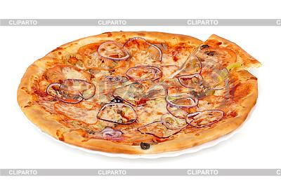 Gemüse-Pizza | Foto mit hoher Auflösung |ID 3027012