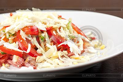 Fleisch-Salat | Foto mit hoher Auflösung |ID 3027121