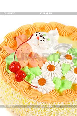 Sahne-Kirsch-Torte | Foto mit hoher Auflösung |ID 3027169