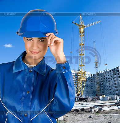 Девушка-строитель | Фото большого размера |ID 3027265