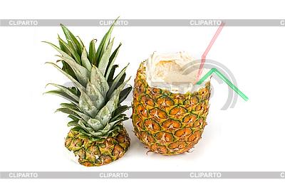 Coctail ananas | Foto stockowe wysokiej rozdzielczości |ID 3027315