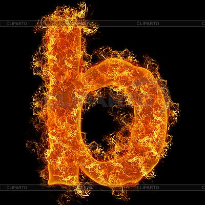 Огненные буквы   Серия изображений   CLIPARTO / 3