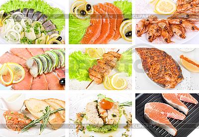 Рыба набор блюд | Фото большого размера |ID 3027699