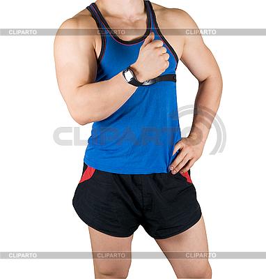 Bodybuilder | Foto mit hoher Auflösung |ID 3028037