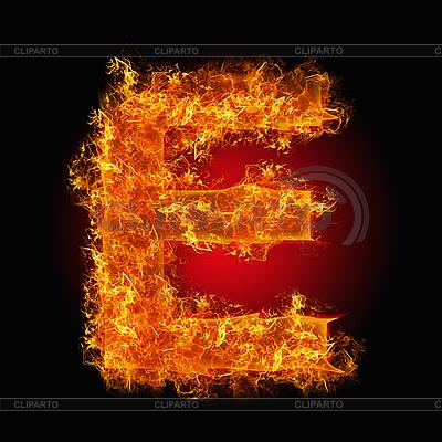 Огненные буквы | Серия изображений | CLIPARTO / 2