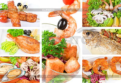 Fish dish set | Foto stockowe wysokiej rozdzielczości |ID 3028679