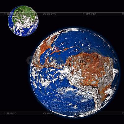 Dwie planety | Foto stockowe wysokiej rozdzielczości |ID 3029339