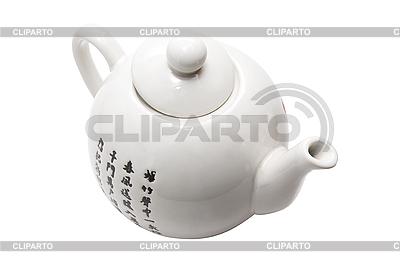 Teapot in asian style  | Foto stockowe wysokiej rozdzielczości |ID 3029439