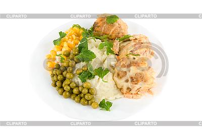 Zdrowe jedzenie w restauracji | Foto stockowe wysokiej rozdzielczości |ID 3029705