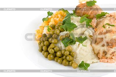 Zdrowe jedzenie w restauracji | Foto stockowe wysokiej rozdzielczości |ID 3029706