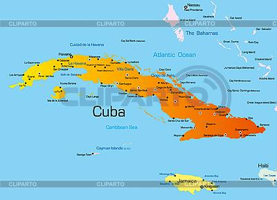 Kuba | Illustration mit hoher Auflösung |ID 3029734
