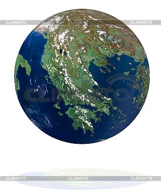 Griechischer Globus | Foto mit hoher Auflösung |ID 3029761