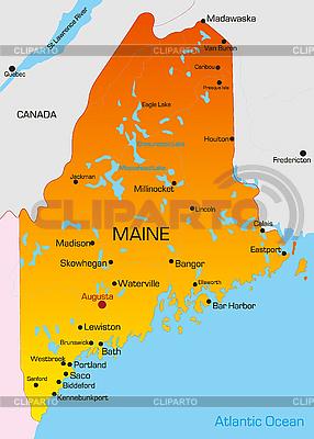 Maine | Illustration mit hoher Auflösung |ID 3029784