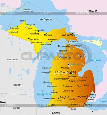 Michigan | Stockowa ilustracja wysokiej rozdzielczości |ID 3029791