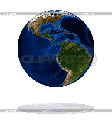 Ameryka na Ziemi planety | Foto stockowe wysokiej rozdzielczości |ID 3029810