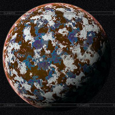 Orangefarbener Planet | Foto mit hoher Auflösung |ID 3029816