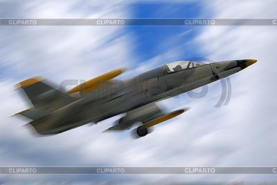 Fighter jet in motion | Foto stockowe wysokiej rozdzielczości |ID 3030309