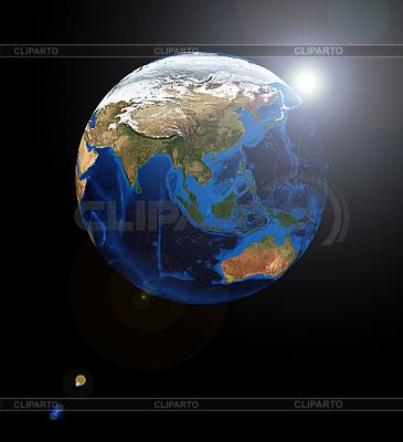 Азия на земном шаре | Фото большого размера |ID 3030545