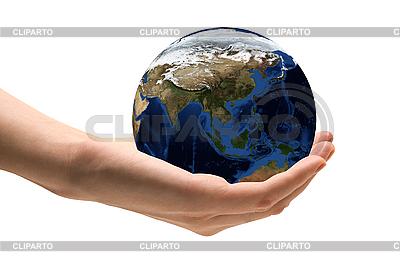 Welt in der Hand | Foto mit hoher Auflösung |ID 3030669
