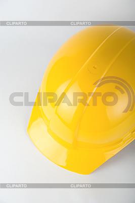 Żółty kask budowniczy | Foto stockowe wysokiej rozdzielczości |ID 3030860