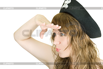 Pirat dziewczyna | Foto stockowe wysokiej rozdzielczości |ID 3031166