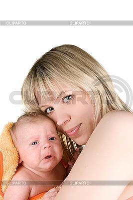 Szczęśliwa matka z dzieckiem | Foto stockowe wysokiej rozdzielczości |ID 3031384