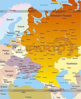 서쪽으로 러시아 지역 | 높은 해상도 그림 |ID 3031452