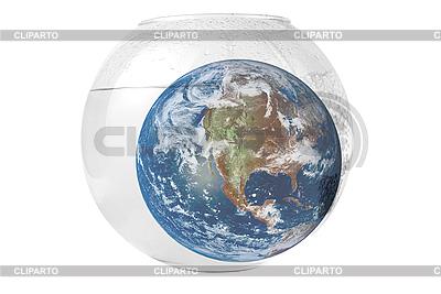 수족관에서 지구 | 높은 해상도 사진 |ID 3031454