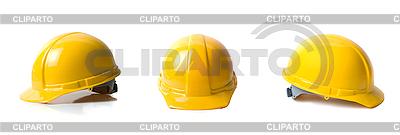 Żółte kaski ustawić | Foto stockowe wysokiej rozdzielczości |ID 3031471