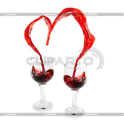 Herz aus Wine | Foto mit hoher Auflösung |ID 3031493