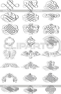 Vignetten | Illustration mit hoher Auflösung |ID 3031510