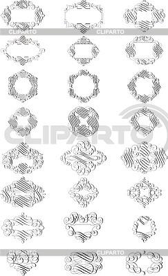 Vignetten | Illustration mit hoher Auflösung |ID 3031511